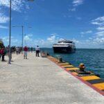 La APIQROO supervisa pruebas del barco «Xel-Ha»  en Isla Mujeres