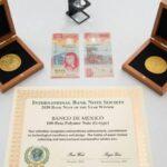 El billete de 100 pesos recibe premio por ser el más bello del mundo